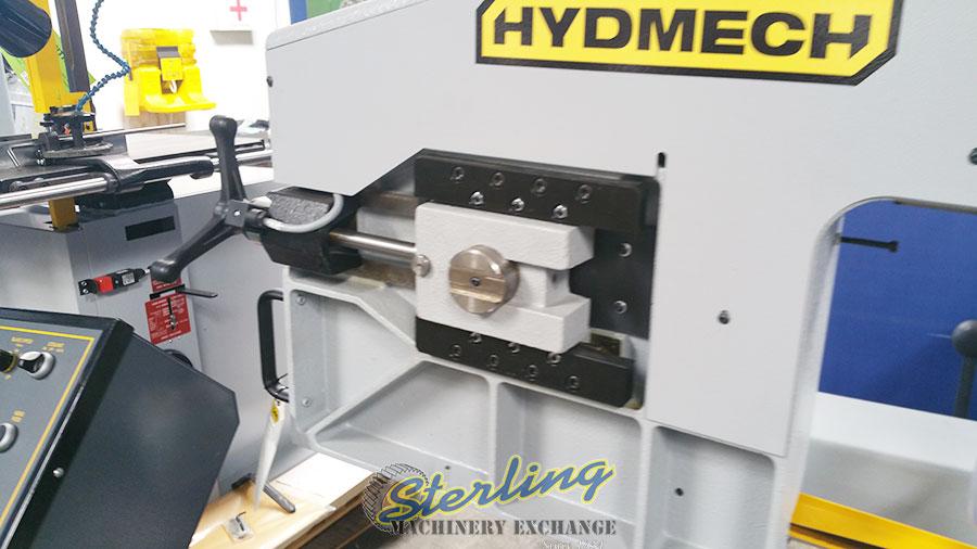 brand new hydmech manual horizontal swivel pivot head style band saw S-20