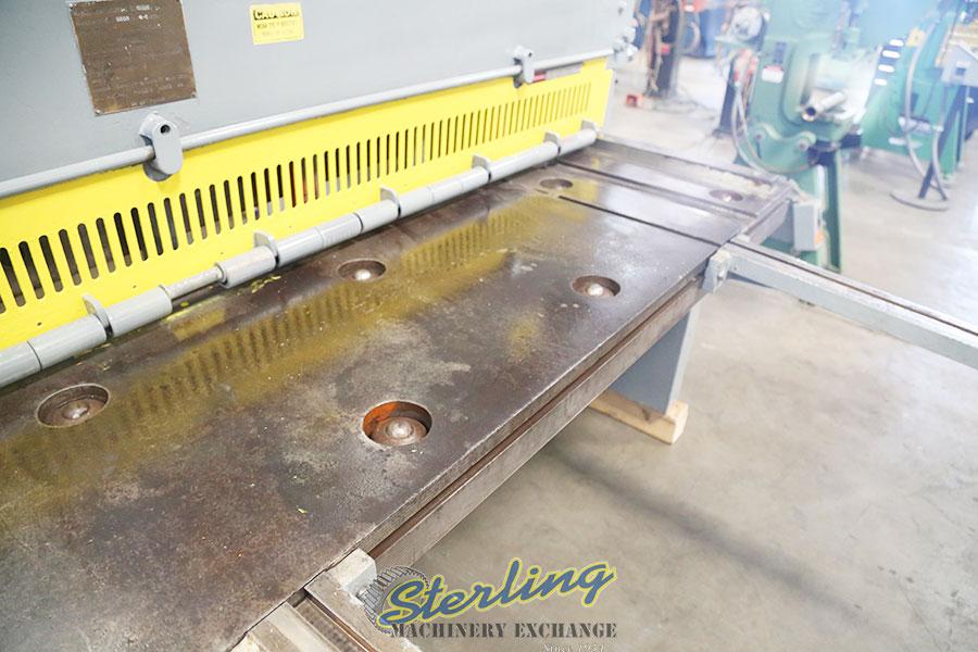 used lodge & shipley power shear (heavy duty shear) 0808