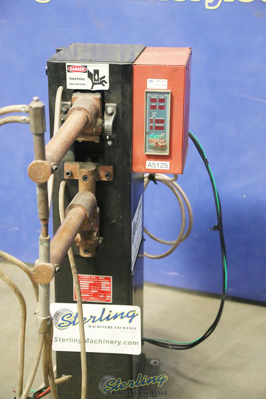 used janda rocker arm resistance spot welder R-30-24