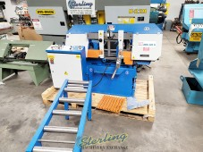 Used Demo Knuth Fully Automatic Horizontal Band Saw (Lightly Used Demo Machine) Save Thousands!