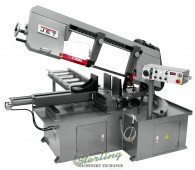 Brand New Semi-Automatic Dual Mitering Bandsaw 3HP 460V3HP 460V, 3-Ph