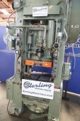 Used Minster Straight Side Single Crank Press With Cushion