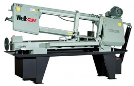 Brand New Wellsaw Horizontal Manual Bandsaw with Extended Capacity