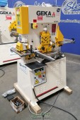 Brand New Geka Single Cylinder Hydraulic Ironworker