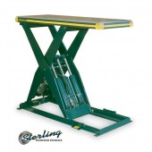 Brand New Southworth Backsaver Hydraulic Scissor Lift Tables