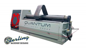 Brand New Quantum Short Length Double Pinch Hydraulic 4 Roll Plate Bender