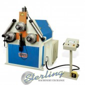 Brand New Baileigh CNC Hydraulic Double Pinch Angle Roll Bending Machine