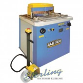 Brand New Baileigh Hydraulic Variable Angle Sheet Metal Notcher