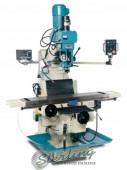 Brand New Baileigh Variable Speed Vertical Milling Machine With Inverter Head, 2 Axis DRO, X/Y/Z Power Feeds