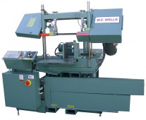 Brand New W.F. Wells (CNC) Fully-Automatic Horizontal Twin Post Bandsaw *AMERICAN MADE*