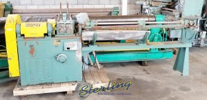 Used Shuster Wire Straightener/Cutoff Machine
