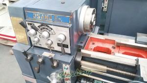 (New Old Stock) Osama Sr. Geared Head Gap Bed Lathe