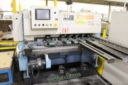 Used Aizawa Automatic Shear Cutting Line and Piling System (Great for Cutting Small Pieces on a Production Line)