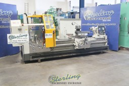"""Used Eisen Heavy Duty Hollow Spindle Gap Bed Engine Lathe With Double Chuck and 10"""" Hole Thru Spindle"""