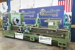 "Used Kingston Oil Country Engine Lathe, Heavy Duty Engine Lathe With 12.5"" Hole Thru Spindle, YEAR 2007"
