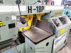 Used Hydmech Semi-Automatic Dual Post Horizontal Band Saw