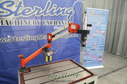 Brand New Baileigh Single Arm Articulated Air Powered Tapping Machine