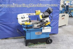 Brand New Baileigh Horizontal Metal Cutting Band Saw with Vertical Cutting Option & Mitering Head