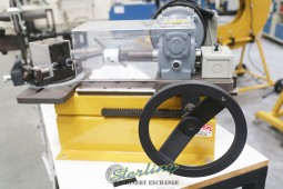 Brand New Baileigh Bench Top Hole Saw Tube & Pipe Notcher