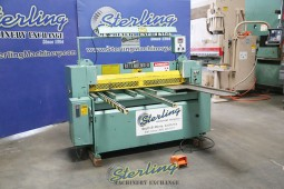 Used Betenbender Hydraulic Low Profile Power Squaring Shears (MADE IN THE USA) (GUARANTEED BY BETENBENDER DEALER)