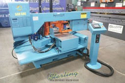 Used DoAll (Structural Steel Mitering ) Heavy Duty Miter Cutting Horizontal Bandsaw With Automatic Feed and NC Control (Late Model, Great Condition))