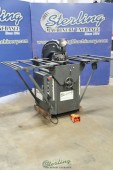 Used Rotex Hydraulic Turret Punch With Manual Setup Table