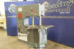 Used Continental Machine Pehaka Deep Throat Vertical Bandsaw