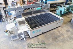Used Flow CNC Waterjet Cutting System (GUARANTEED BY FLOW DEALER!) Cut Metal, Stone, Glass, Tile