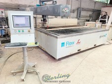 Used Flow CNC Waterjet Cutting System GUARANTEED BY FLOW DEALER!