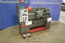 Used Jet Engine Lathe With Stand, Foot Brake and DRO
