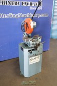 Used Scotchman (LOW TURN, MANUAL VISE AND MANUAL DOWN FEED) Circular Cold Saw (For Cutting Steel, Stainless, Aluminum, Brass, Copper, Plastics)