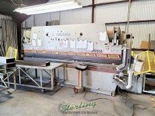 Used Accurpress CNC Hydraulic Press Brake (3 Axis Backgauge with Power R Axis) (GUARANTEED  By Dealer)