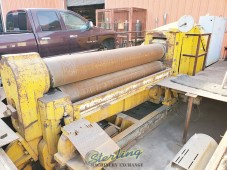 Used Bertsch Hydraulic Double Pinch Plate Bending Roll