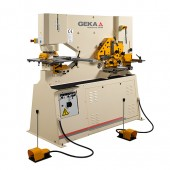 Brand New Geka Dual Cylinder Hydraulic (Deep Throat) Ironworker