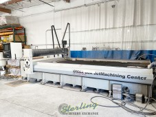 Used Omax Waterjet Cutting Machine With Tilt-A-Jet and other Options, Original Build Cost over $371,000