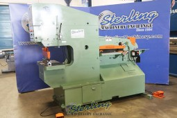 Used Piranha Hydraulic Ironworker (Dual Operated) (Guaranteed By Piranha Dealer)
