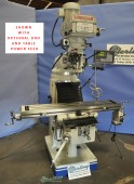 Brand New Birmingham (VARIABLE SPEED) Vertical Milling Machine