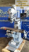 "Brand New Acra Variable Speed Knee Milling Machine ""Bridgeport Copy"""