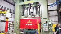 used clearing triple action hydraulic press, deep draw hydraulic triple action press DH-1500-500-108