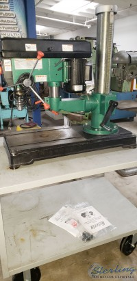 used grizzly radial arm drill G9969