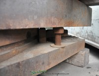 used giddings & lewis air lift rotary table 4860