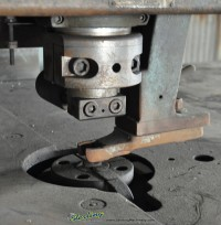 used whitney single end punch 652-50