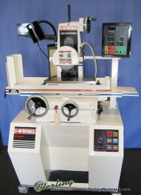 harig hydraulic automatic surface grinder Autostep