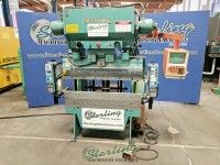 used wysong cnc hydra-mechanical press brake with safety light curtains H 3552