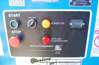 used quincy rotary screw air compressor QSB50ANA32SR