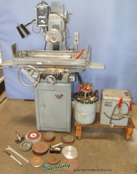 used boyar schultz automatic surface grinder (2 axis) Deluxe 2A