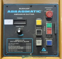 used buehler automatic abrasimatic cutter 10- 1060- 460A