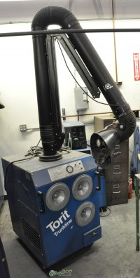 used torit easy -trunk fume collector Easy-Trunk