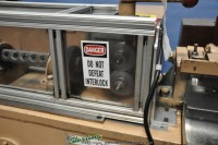 used shuster wire straightener & cut off 1V16