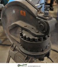 used rotex hand turret punch 18-A